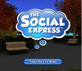 The Social Express Opening Screen